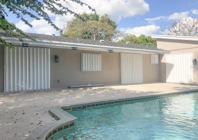 Accordion Shutters-Cutler Bay House-Closed