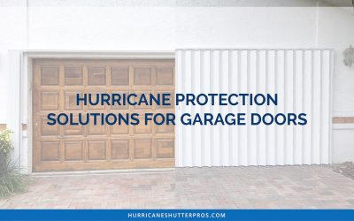 Hurricane Protection Solutions for Garage Doors