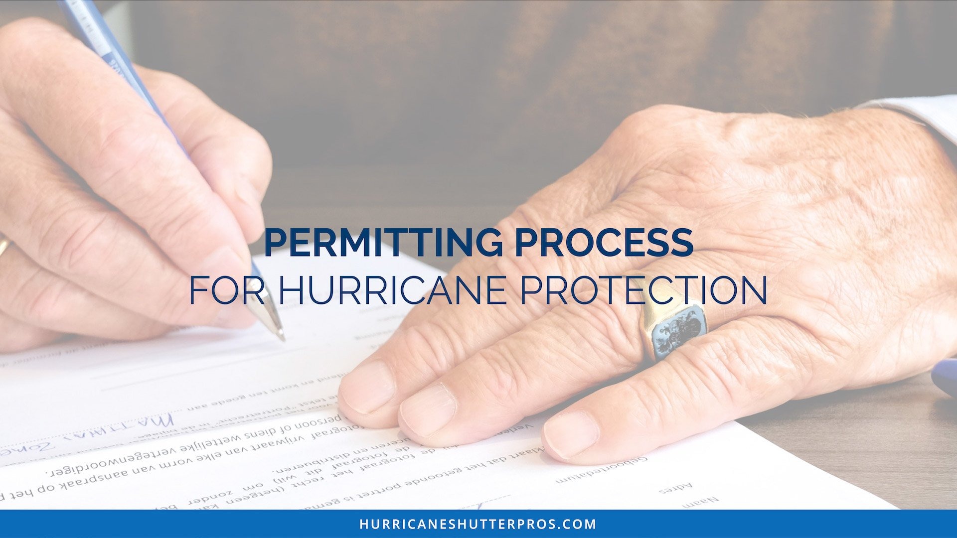 Permitting Process for Hurricane Protection