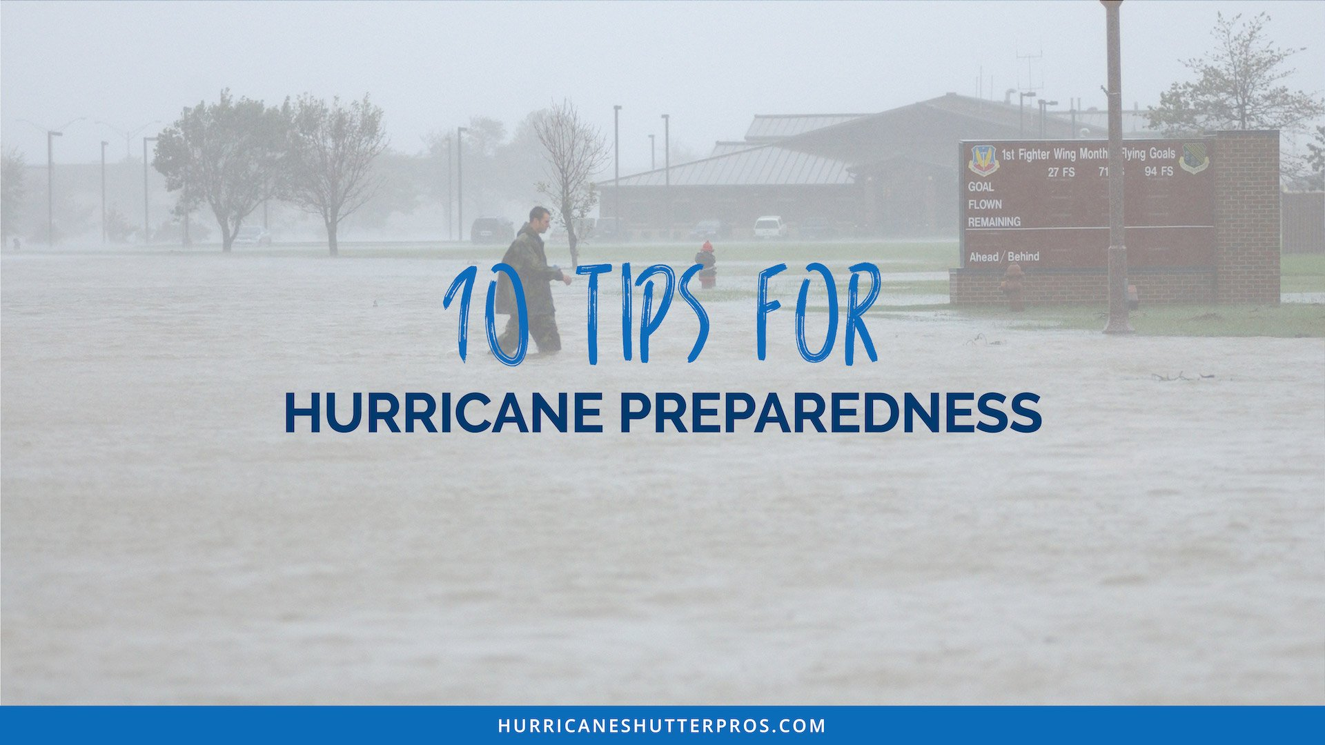 10 Tips for Hurricane Preparedness