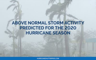 Above Normal Storm Activity Predicted for 2020 Hurricane Season